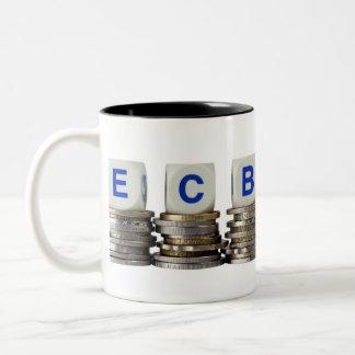 European Central Bank Two-Tone Coffee Mug