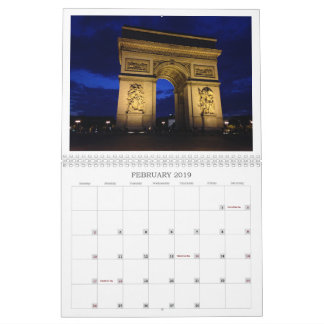 European Charm Calendar