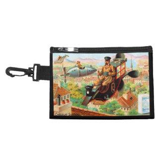 European Chocolate Flying Machine Ad Accessory Bag