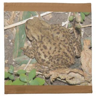 European Common Toad Napkin