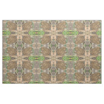 European Common Toad Patterned Fabric