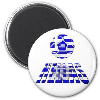 European Cup 2012 - Greece Soccer Football flag Magnets