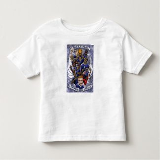 European Cup - Poland-Ukraine 2012 France flag Toddler T-shirt