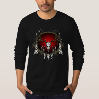 European  deer skulls T-Shirt