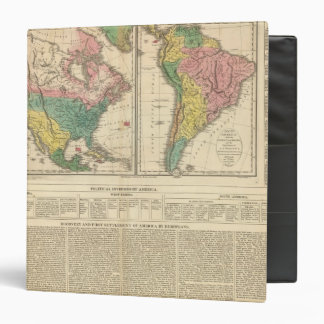 European Discovery of America Atlas Map Binder