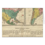 European Discovery of America Atlas Map Card