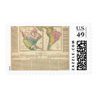 European Discovery of America Atlas Map Postage