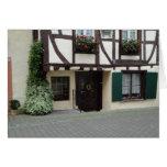 European Doorway Card