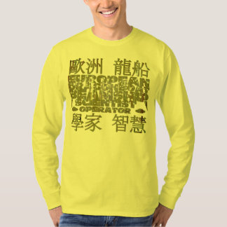 European Dragon Boat Beamship Scientist Operator T-Shirt
