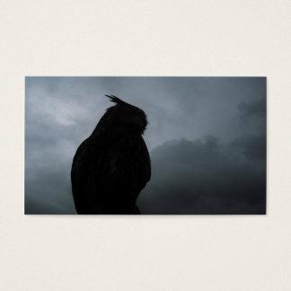 European Eagle Owl Business Card