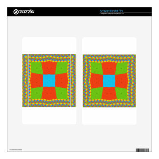 European ethnic tribal pattern decal for kindle fire