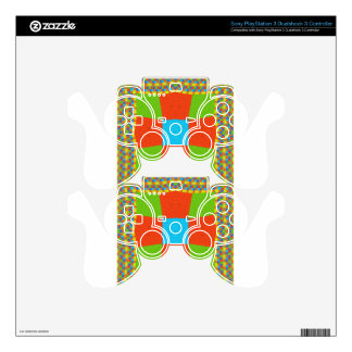 European ethnic tribal pattern PS3 controller decals