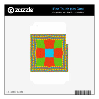 European ethnic tribal pattern skin for iPod touch 4G