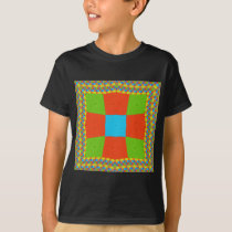 European ethnic tribal pattern T-Shirt