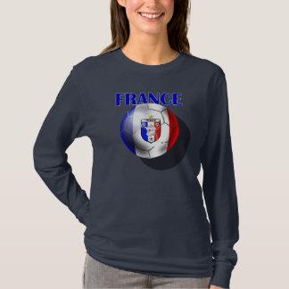 European - Euro 2012 French Fans France ball T-Shirt