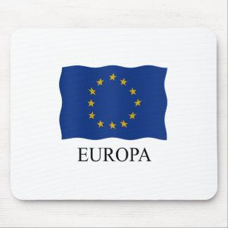 European flag Europe Mouse Pad