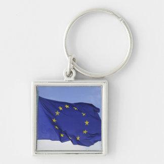 European Flag RF) Keychain