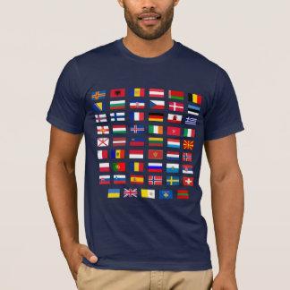 European Flags T-Shirt