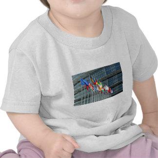 European Flags Tee Shirts