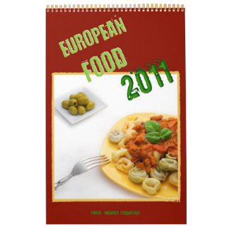 European Food 2011 Calendar