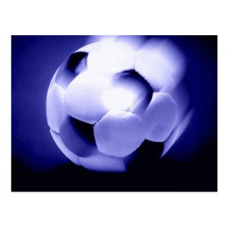 European Football Ball Postcard