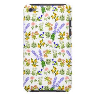 European Garden Flowers iPod Touch Case