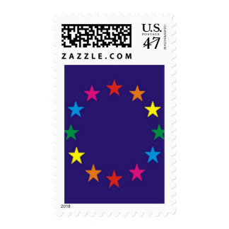 from Jagger gay pride postage stamps