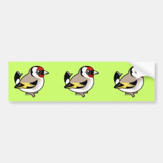 European Goldfinch Bumper Sticker
