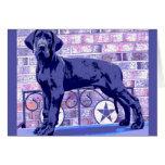 European Great Dane pup card