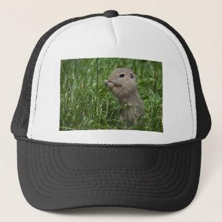 European ground squirrel trucker hat