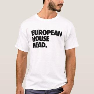 European House Head T-Shirt