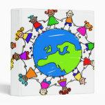 European Kids 3 Ring Binder