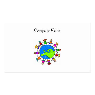 European Kids Double-Sided Standard Business Cards (Pack Of 100)