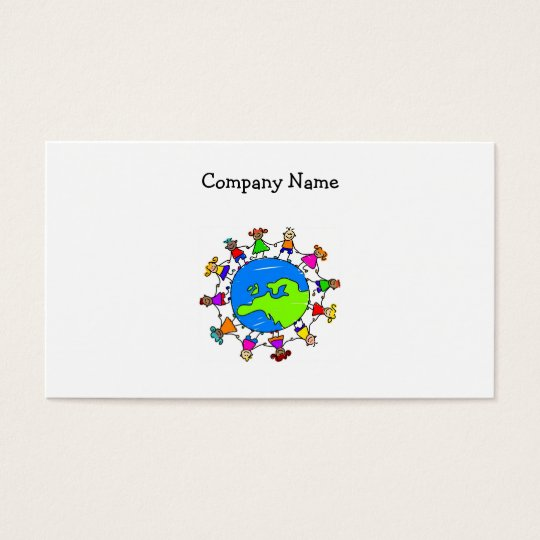 European Kids Business Card