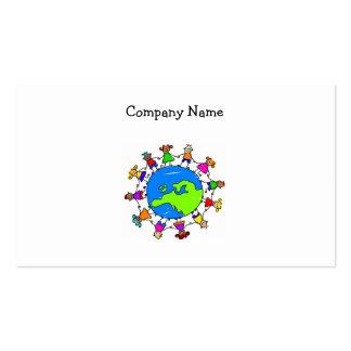 European Kids Business Card Template