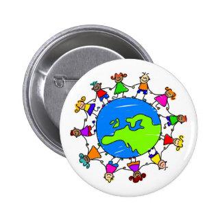 European Kids 2 Inch Round Button