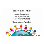 European Kids, Large Business Cards (Pack Of 100)