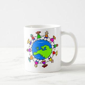 european kids classic white coffee mug