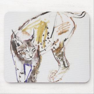 European Lynx Mouse Pad