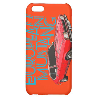 European Mustang Cover For iPhone 5C