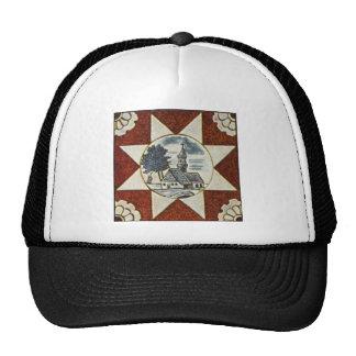 European Ornamental Patterns Trucker Hats