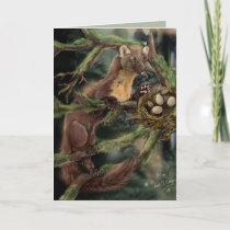 European Pine Marten Card