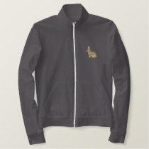 European Rabbit Embroidered Jacket