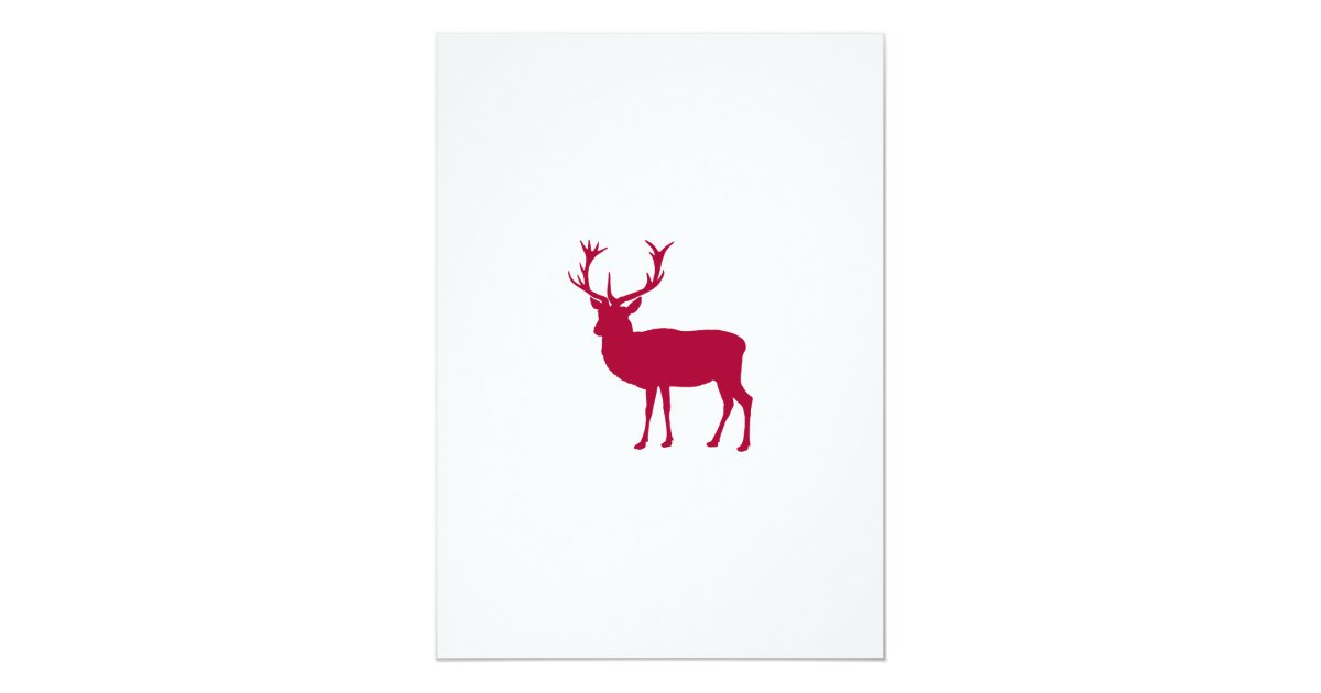 European Red Deer Stag - Stag Party Card  Zazzle