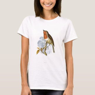 European Robin - Erithacus rubecula T-Shirt