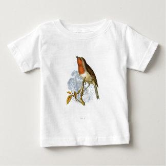 European Robin - Erithacus rubecula T Shirt