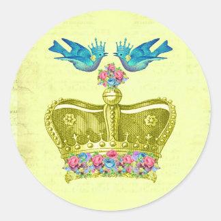 European Royalty Sticker Seal