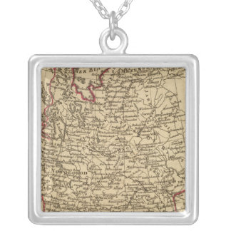 European Russia 2 Silver Plated Necklace