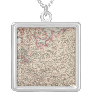European Russia Silver Plated Necklace