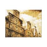 European Sky Line Canvas Print